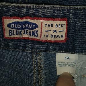Old Navy Shorts - Old Navy Blue Jeans Front Pocket Shorts